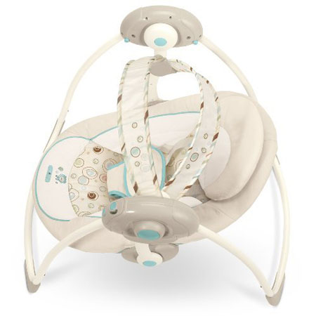 Bright Starts Comfort and Harmony Portable Swing