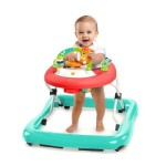 Affordable Bright Starts Walk-A-Bout Walker with Safari Themed Toy Station