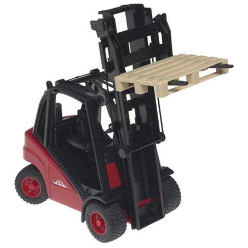 Bruder Toys Linde Forklift with Pallet