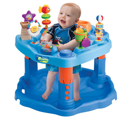 Evenflo Splash Mega Exersaucer Activity Center for learning baby