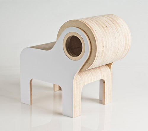 Bull Children Furniture by Andrew Lizaso Design