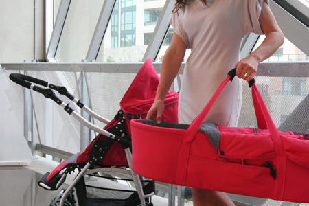 Bumbleride Flyer Reversible Handle Stroller