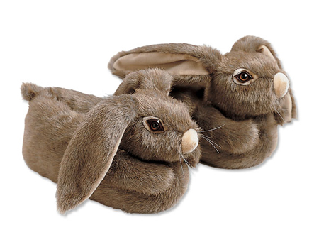 Animal Slippers - Bunny Slippers