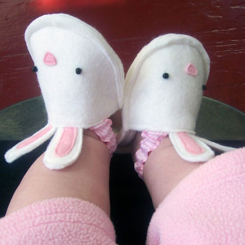 Bunnykins Baby Slippers - Cute Animal Slippers