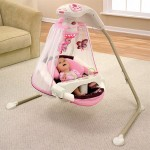 Butterfly Cradle Baby Swing Offers An Excellent Place Of Peace For Your Baby