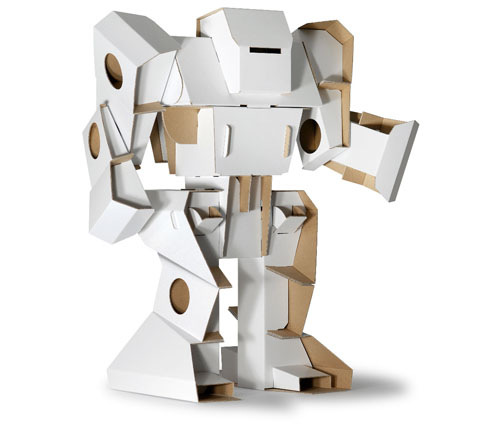 Cardboard Robots Name Cardboard Box Robot File Name