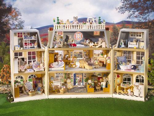 Calico Critters Cloverleaf Manor