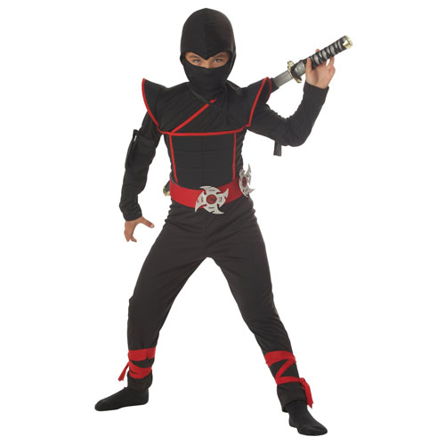 California Costumes Toys Stealth Ninja - Top 20 Kids Halloween Costumes
