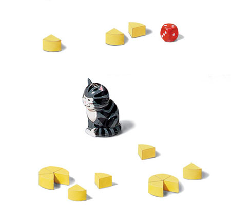 cat and mouse play set