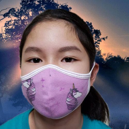 Cute Children Breathable 3D Reusable Face Mask