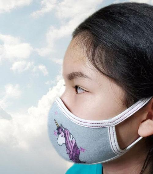 Cute Children Breathable 3D Reusable Face Mask
