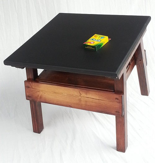 Childrens' Furniture Chalkboard Game Table Activity