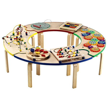 circle of fun activity table