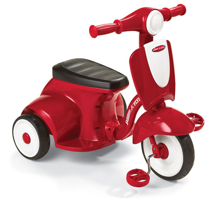 Radio Flyer Girls Classic Lights and Sounds Trike - Tricycles at