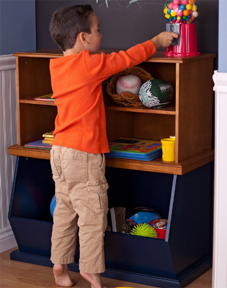 Classic Playtime Stackable Toy Storage