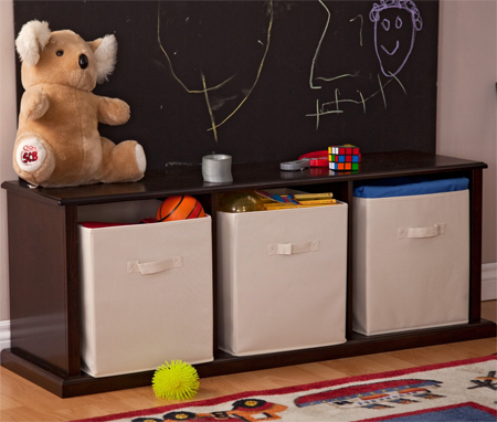 classic playtime storage bench