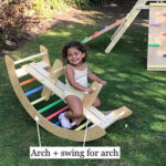 Climbing Arch and Swing In One to Support Muscles Development and Improve Balance Control Skills