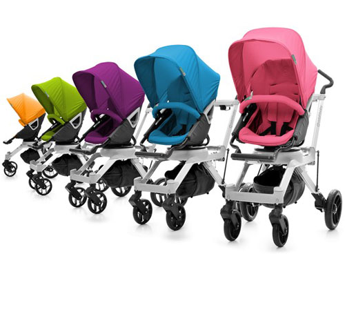 Color Pack for Stroller Seat G2 Works With Orbit Baby Buggy Seat G2