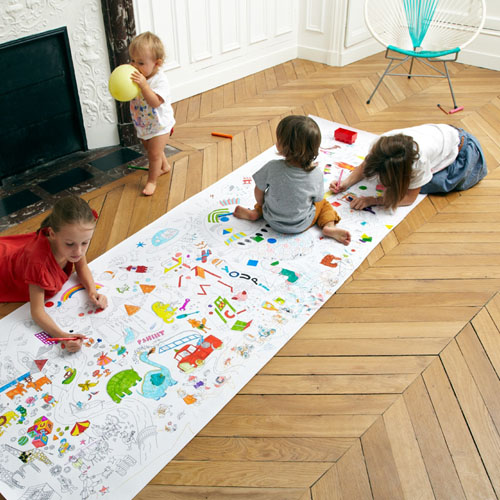 Colormy : A Giant 3 Meter Long Coloring Page For All Your Children ...