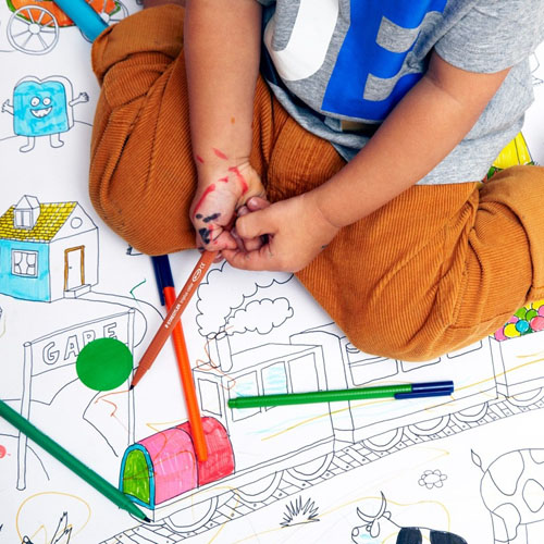 Colormy Giant and Long Coloring Page