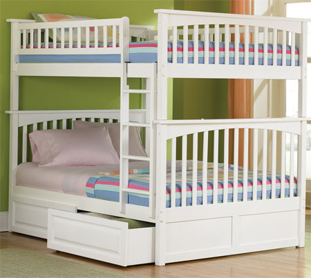 Columbia Full Over Bunk Bed fers Funful Room For Your Kids To