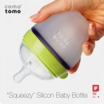 Comotomo Natural Feel Baby Bottle Mimics The Breastfeeding Process, Just Like The Real Thing!