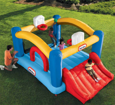 Complete Outdoor Fun for Your Kids with Sports n Slide Bouncer