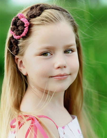 Cotton Flower Headband Gives The Feel Of Superiority By Enhancing The ...