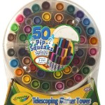 Crayola 50ct Telescoping Pipsqueaks Tower