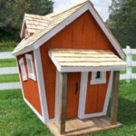 Crickety Crooked Fun House is Handcrafted and Handpainted to Ensure Long-lasting Use