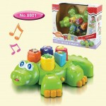 Crocodile Clever Baby Toy to Produce Different Sounds and Music
