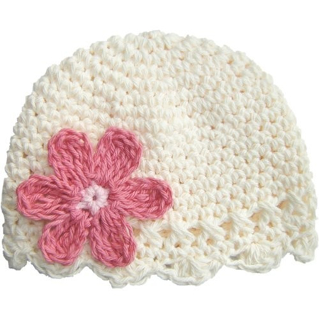 daisy flapper beanie an essential for newborns