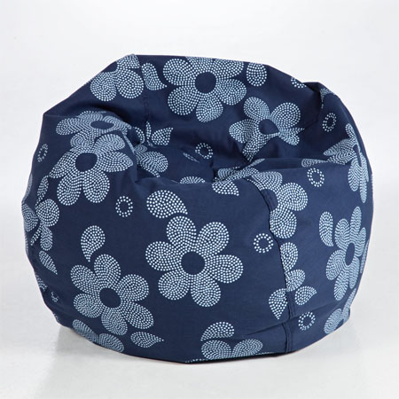 daisy flowers bean bag chair