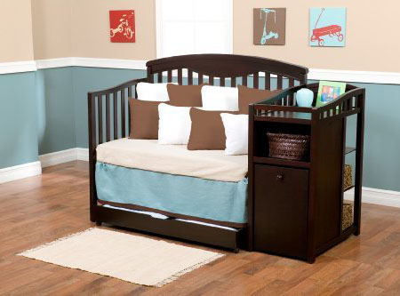 Delta Shelby Crib and Changer
