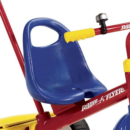 Deluxe Steer And Stroll Trike Gives Fun And Convenient