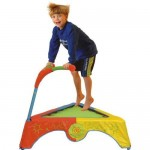Diggin JumpSmart Trampoline Features Unique Two Handles Like a Bike