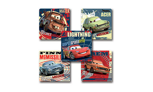Disney Cars Stickers - Stickers for Kids