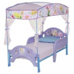 Disney Fairies Toddler Bed with Canopy : Your Little Girl Can Immerse Herself Into The Magical Fairy Land