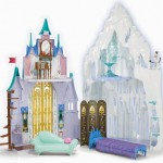 Disney Frozen Castle and Ice Palace Playset Re-creates The Adventure of Anna and Elsa at Home