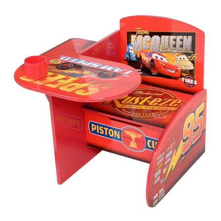 The All In One Disney Pixar Cars Chair And Desk Modern