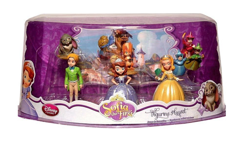 Disney Sofia the First Exclusive 6 Piece PVC Figurine Set