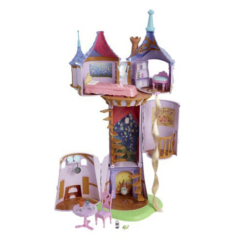 Disney Tangled Featuring Rapunzel Fairytale Tower