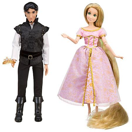 Disney Tangled Rapunzel and Flynn Doll Set