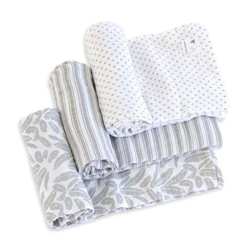Dottie Bee Organic Muslin Swaddle Blankets
