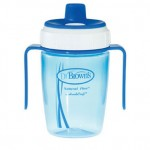 Let Your Baby Start Using Cups with Dual Function Dr. Brown's Training Cup