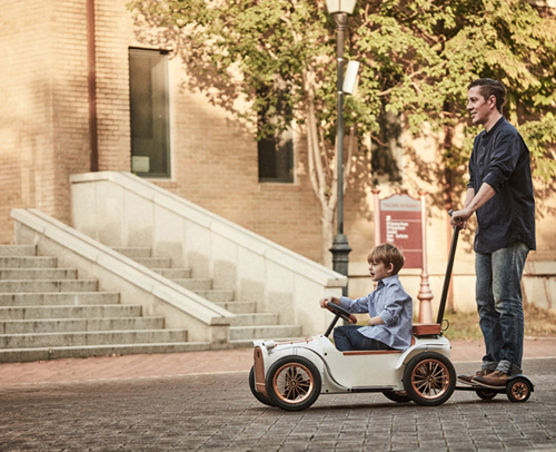 D. Throne Premium Electric Car for Children by Joongho Choi