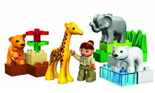 DUPLO LEGO Ville Baby Zoo Stimulates Your Children Social Skill Development via Role-Play