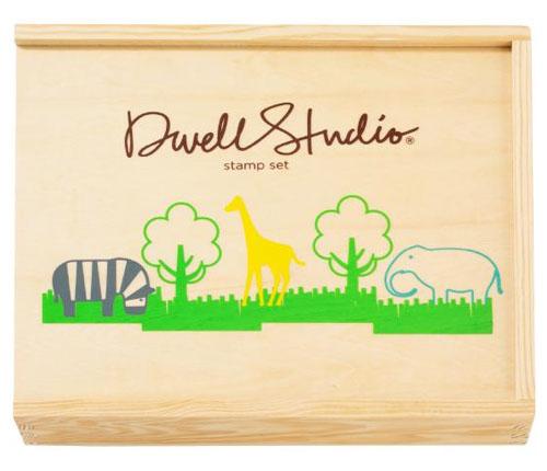 DwellStudio Zoo Stamp Set - DwellStudio Stamp Sets