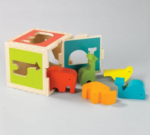 Dwell Studio Zoo Shape Sorter