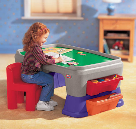 Easy Adjust Play Table - A Fun Point for Your Kid
